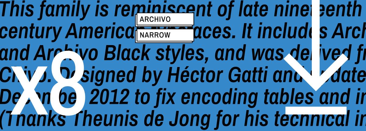 Archivo Narrow - Omnibus-Type