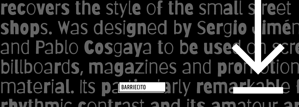 Barriecito - Slider 3