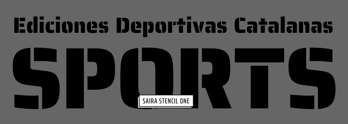 Saira Stencil One - Slider 2