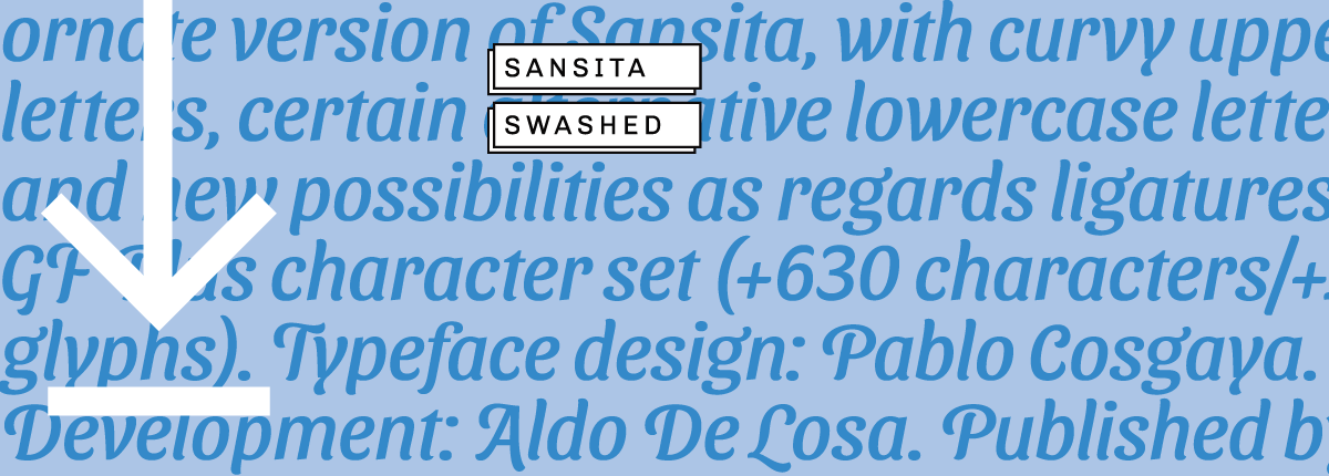 Sansita Swashed - Slider 3